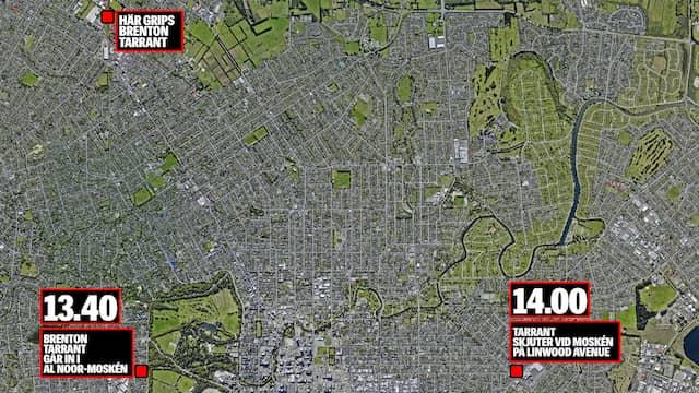 Terrordåd I Nya Zeeland Gallery: Terrordåd I Nya Zeeland: Brenton Tarrant Dödade Minst 49
