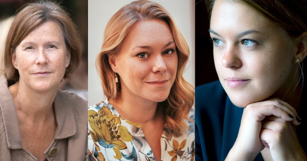 Britt Karlsson, Maya Samuelsson och Ullrika Ferlin.