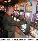 25-cents-automaterna passade utmärkt för en icke speltokig svensk i Las Vegas.