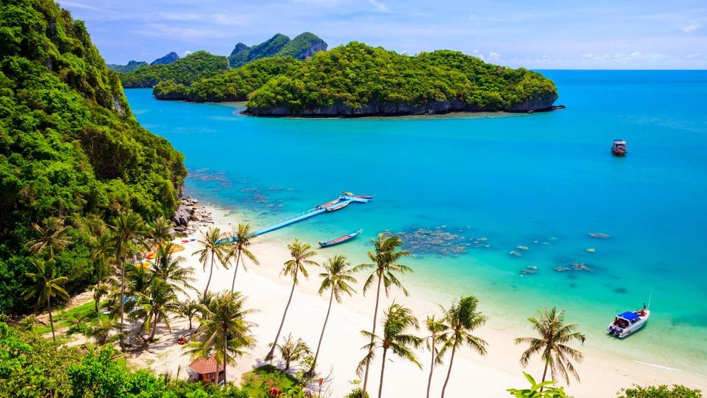 Ta det försiktigt på paradisön Koh Samui!