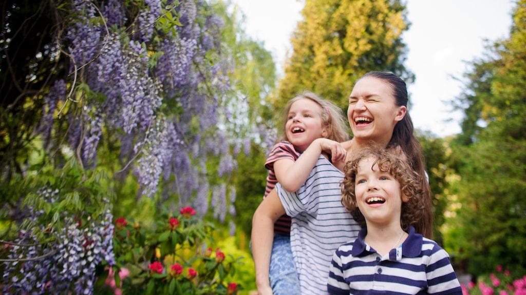 De som bor nära en park och har mycket växter hemma är mer benägna att faktiskt ta sig dit.