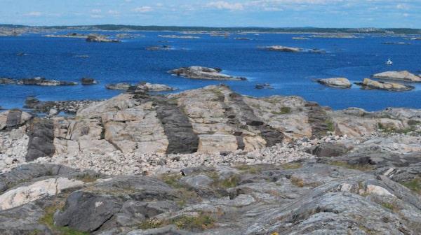 Fina klippbad på Saltö.