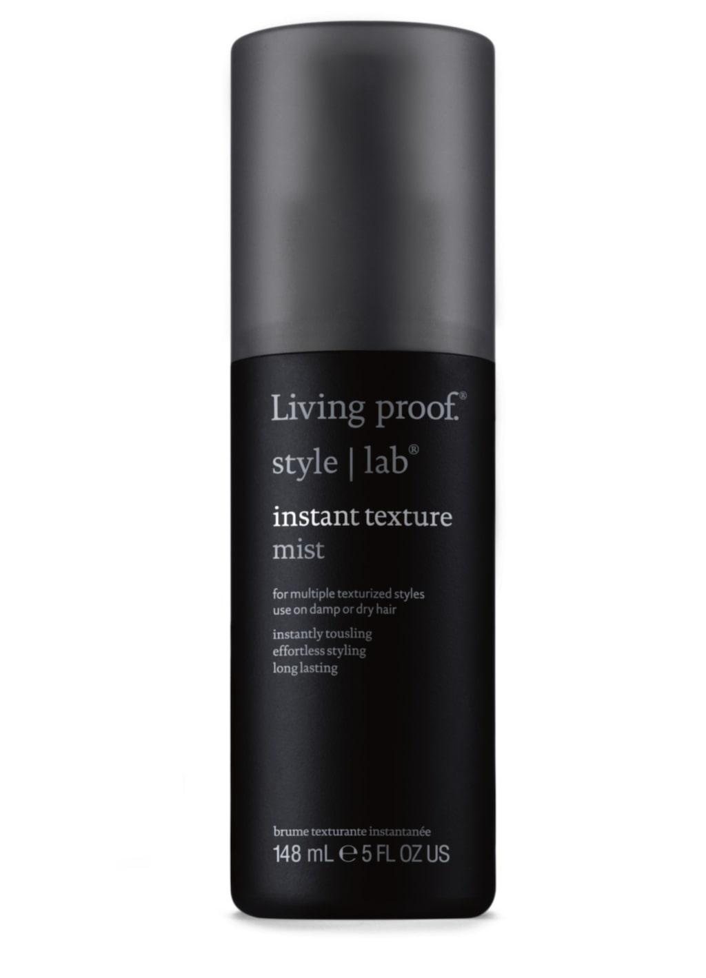 """<p><strong>Instant texture mist, 229 kronor/148 ml, Living proof</strong><br>Känns som en blandning mellan saltvattensprej och volym-mist som gör håret följsamt och naturligt med lite glansig polish. Perfekt för ett tunt skandinaviskt hår som behöver struktur. Känns inte alls så strävt. God doft. Lyko.se</p><p><exp:icon type=""""wasp""""></exp:icon><exp:icon type=""""wasp""""></exp:icon><exp:icon type=""""wasp""""></exp:icon><exp:icon type=""""wasp""""></exp:icon><exp:icon type=""""wasp""""></exp:icon><br></p>"""