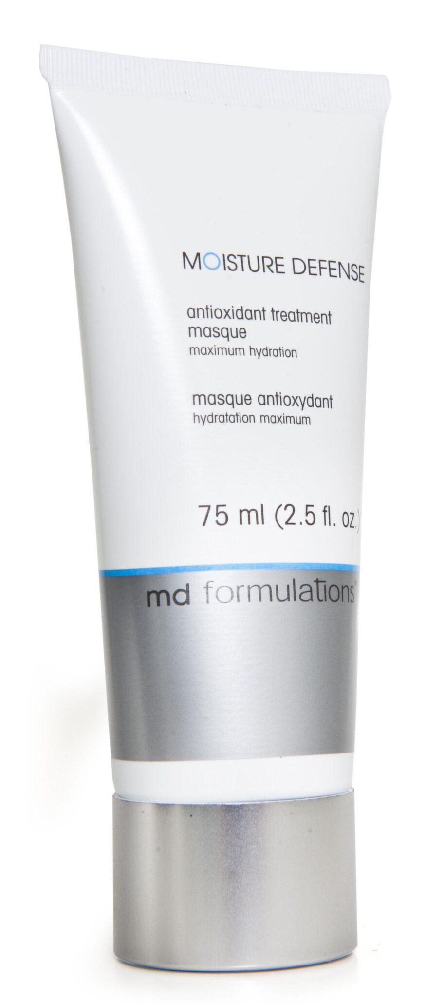Produkter för känslig hy<br>Stärker. Ansiktsmask som stärker hudens försvar mot påfrestningar. Moisture defense från md formulations. 75 ml, 470 kronor.