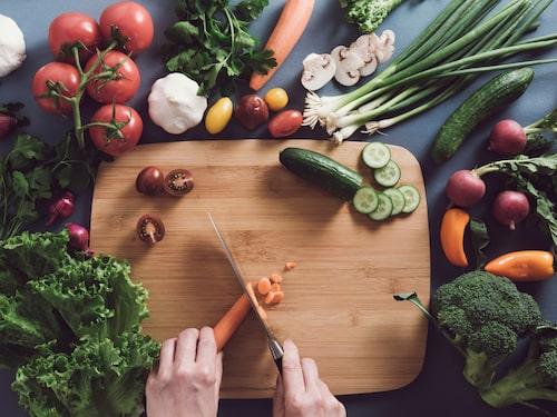 Grönsaker är a och o för en hälsosam kropp.