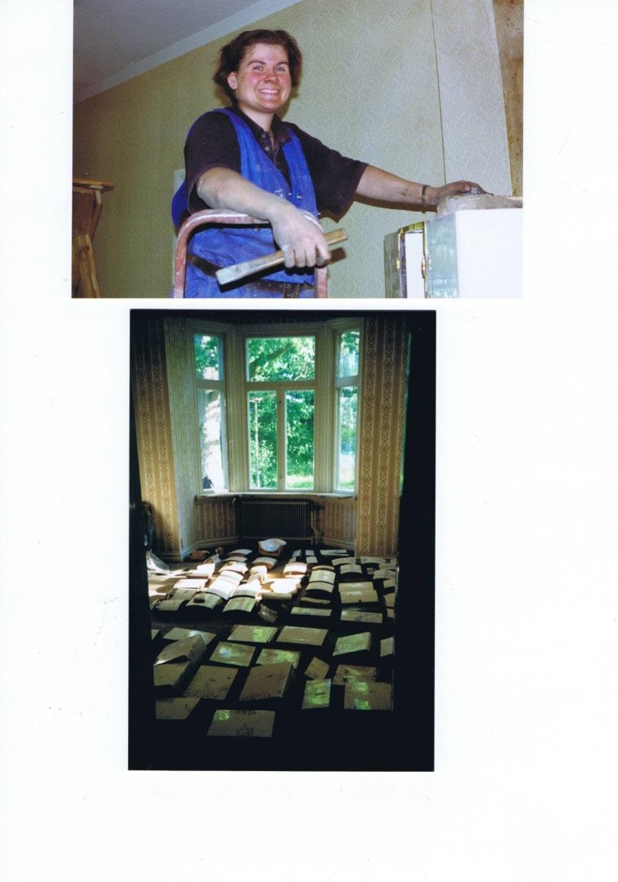 Sex kakelugnar måste monteras ned innan flytt.