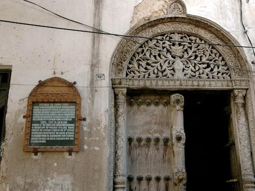 De vackra dörrarna i Stone hindrade stridselefanterna att tränga in i staden.