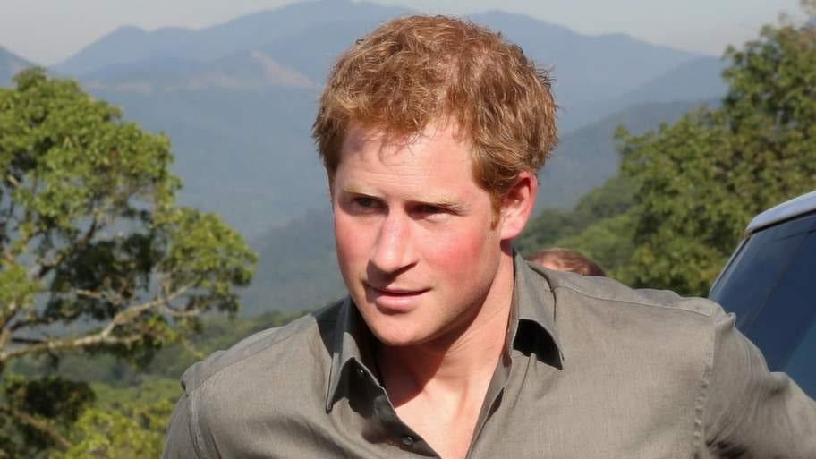 Prins Harry av England.