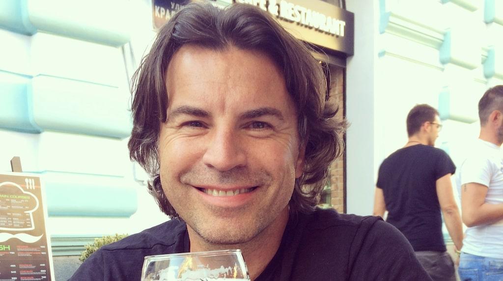 SVT-profilen Jovan Radomir åker till Belgrad flera gånger per år.