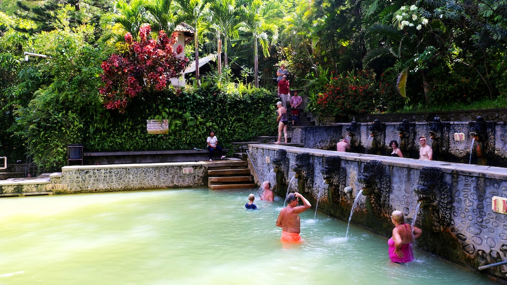 Banjar hot springs, Bali, Lovina.