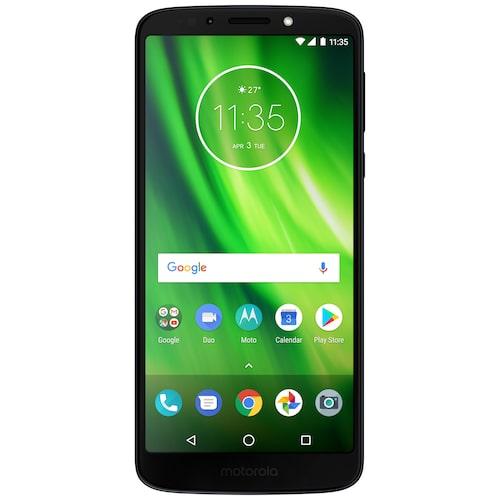 Motorola G6 PlayStor och tydlig smartphone i den billigare prisklassen. Fördelen med denna är att det är ett så kallat öppet Android i den och därmed har väldigt få förinstallerade appar. Det gör att telefonen är enkel att ta sig an och lära sig. Motorola lägger stor vikt vid att anpassa sina telefoner för ett enkelt användande, oavsett i vilket åldersgrupp man tillhör. Lång livslängd och minskat behov av att uppdatera till en nyare modell. Cirkapris: 1 900 kr