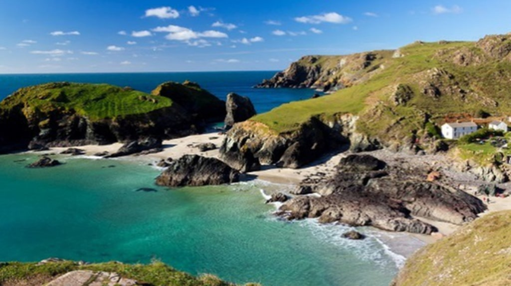 Porthminster Beach i Cornwall ger en tropisk känsla.