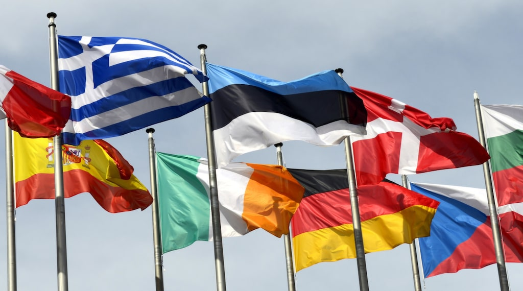 Har du koll på Europas flaggor?