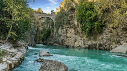 Köprülü Canyon National park.