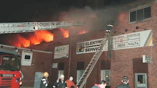 Psyksjuk kvinna anlade brand