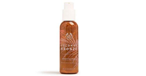 Coconut Bronze shimmering oil, Body Shop