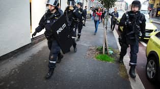 Polisen vem ar den tatuerade mannen