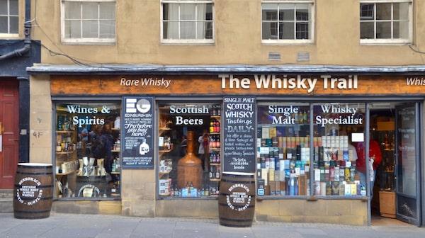 Ett av många ställen där du kan gp på whiskyprovning.