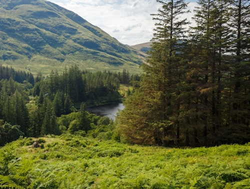 Vackra Glencoe i Skottland – platsen för Hagrids stuga i Harry Potter-böckerna.