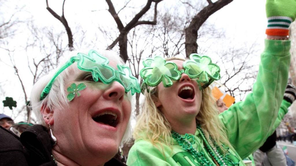 Tisdagen den 17 mars är det dags att fira St Patricks's day.