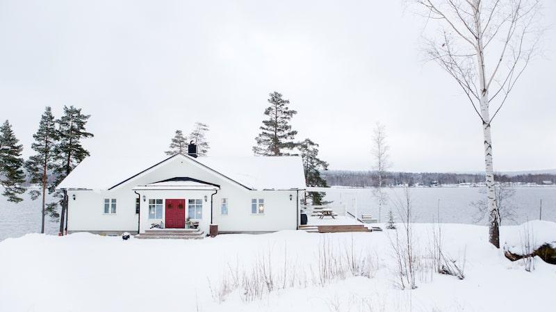 Huset ligger utanför Ludvika, och är en ombyggd Fiskarhedenvilla.