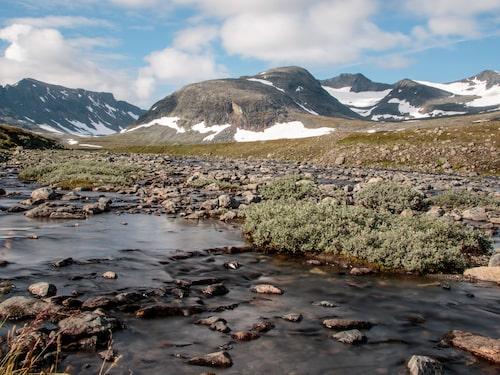 Jämtlandstriangeln passerar Sylarna.