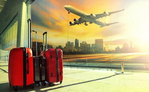 Håll koll på ditt bagage när du är ute och reser.