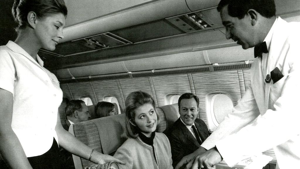 Matupplevelsen ombord har alltid varit viktig för British Airways.
