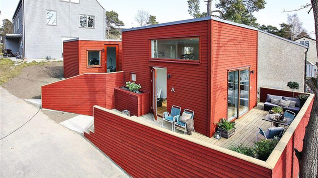 Visst vill man flytta in i det smarta minihuset på 33 kvadratmeter!