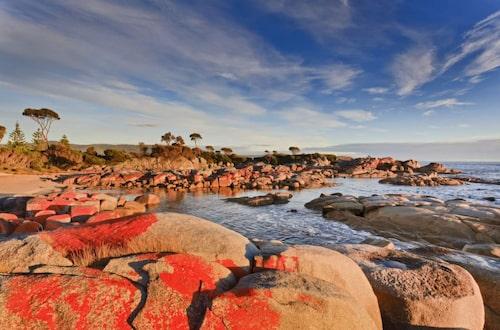 Bay of Fires, Australien.