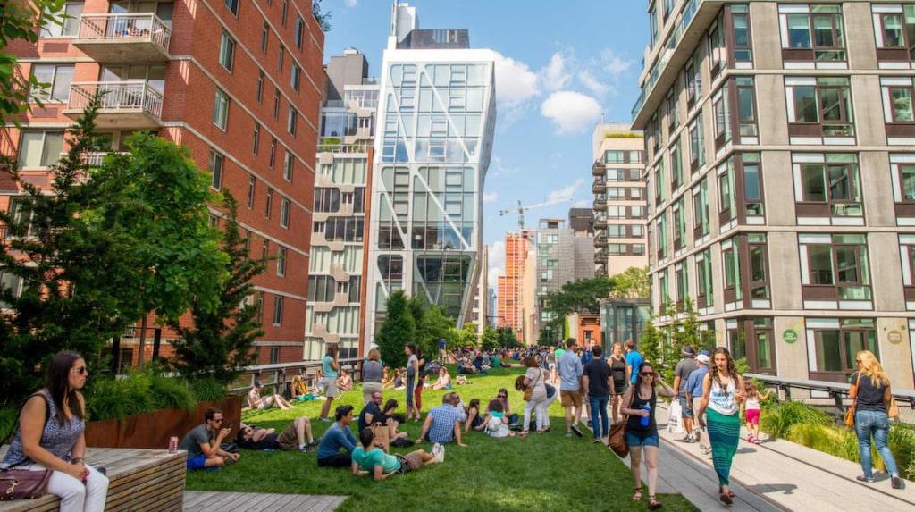 The High Line – mycket mer harmoniskt än Times Square.
