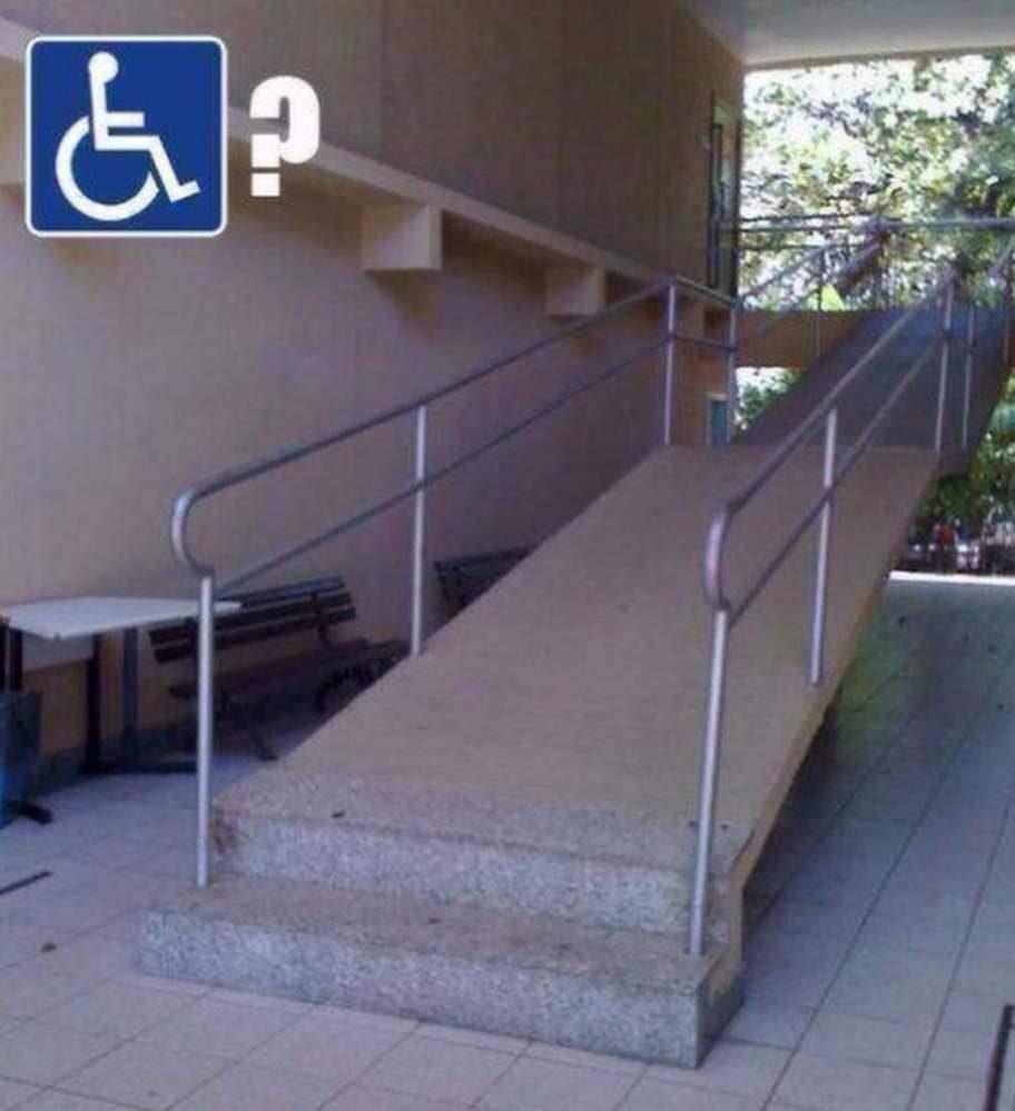 """Nästan handikappanpassat. Foto: <a target=""""_blank"""" href=""""https://www.facebook.com/fruktansvartdaligthantverk"""">Fruktansvärt dåligt hantverk</a>"""