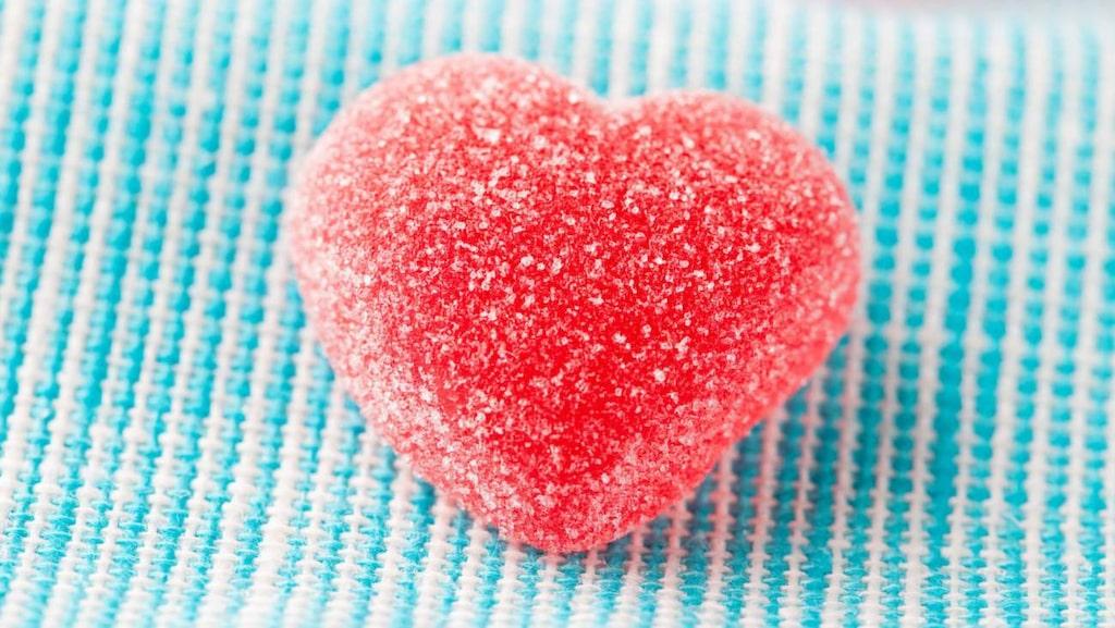 <p>Geléhjärtan är en storsäljare på alla hjärtans dag.</p>