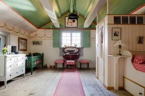 Karin Larsson och barnens rum.