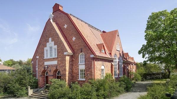 Lyxiga sjömanskyrkan i Oxelösund.