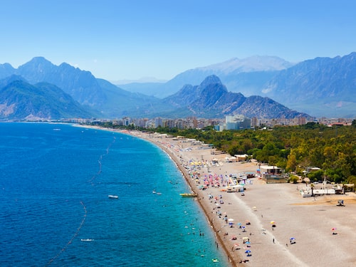 Antalya i Turkiet har seglat upp som en svensk favorit.