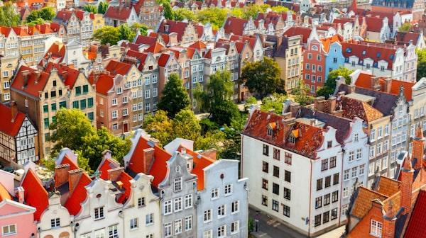 Gdansk är en återuppstånden historisk pärla.