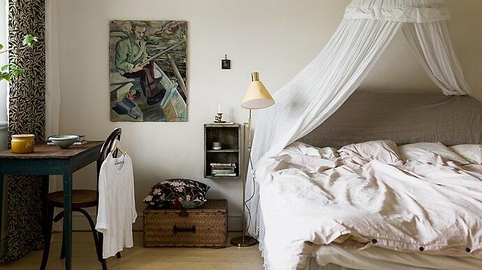 Villan är 230 kvadratmeter, fördelat på sju rum.