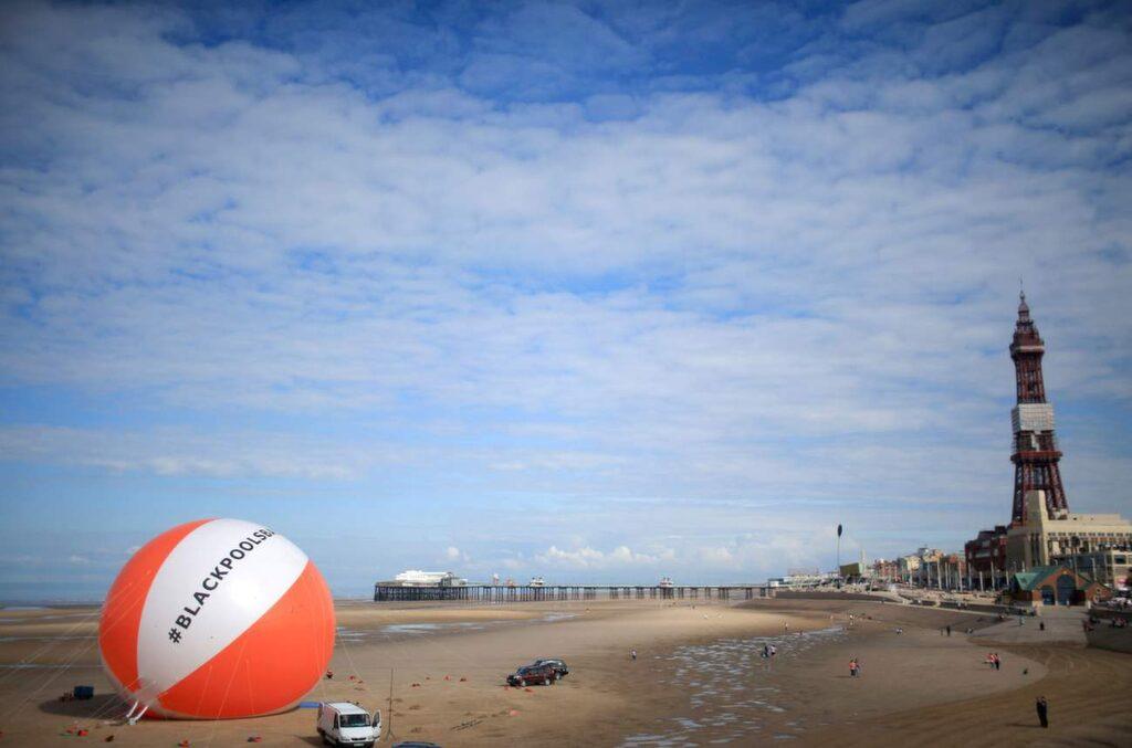 Blackpool: En av Englands mest oromantiska städer.