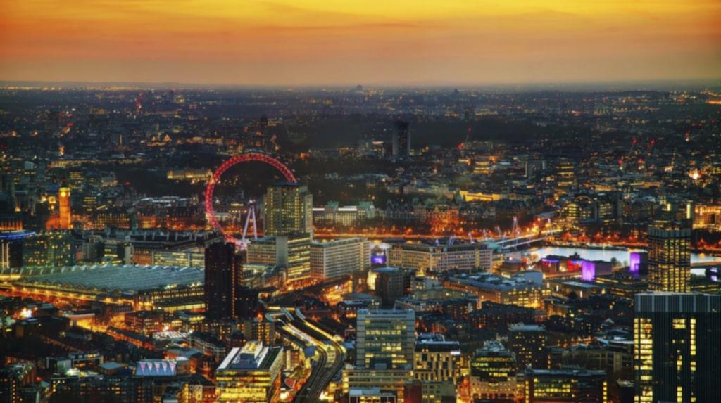 Vilken stad är din favorit? London...