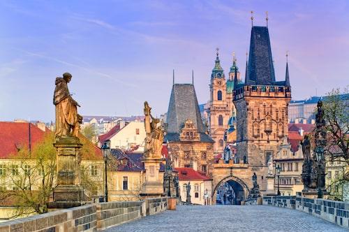 Karlsbron, Prag.