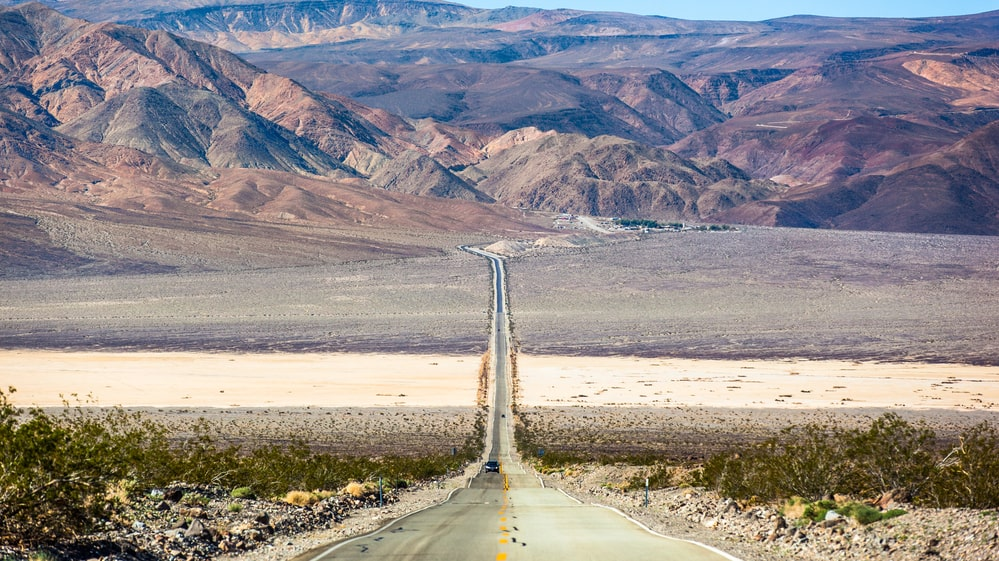 Temperaturer runt 54 grader har uppmätts i Death Valley National Park i USA.