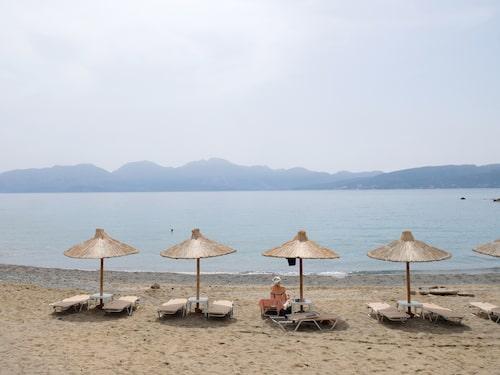Agios Nikolaos har barnvänliga stränder.