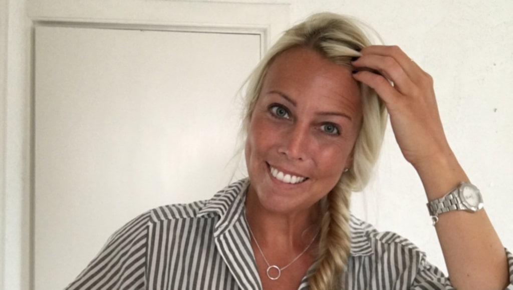 Hemma hos Sofia Nordenberger på Gotland infinner sig lugnet på en gång.