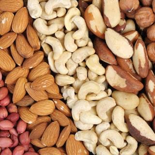 farligt att äta för mycket nötter