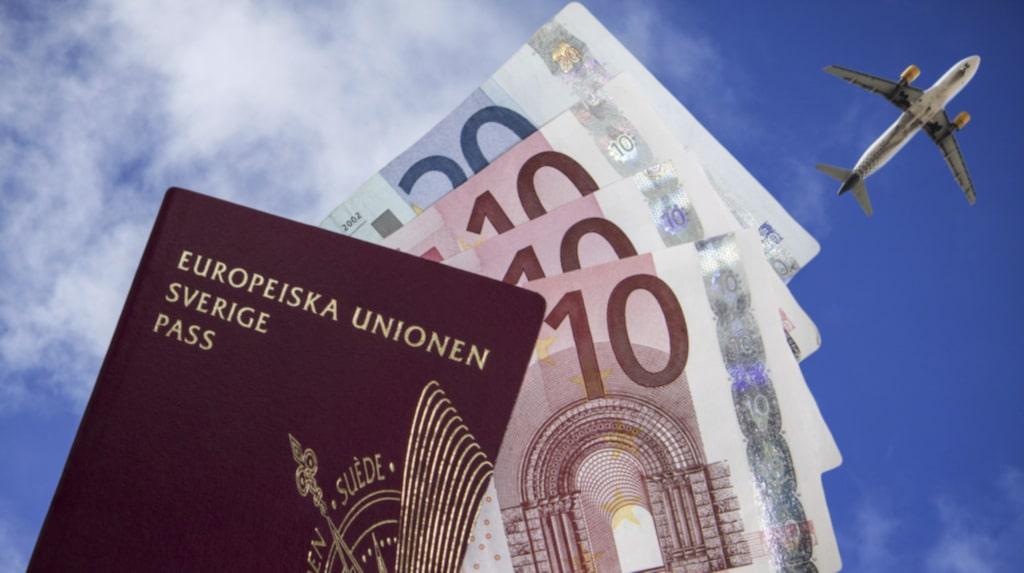 Ett svenskt pass ger tillträde till 176 länder utan visum.