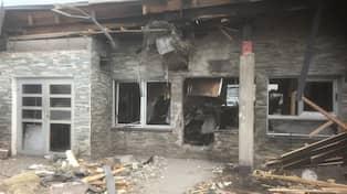 Explosion vid restaurang i malmo