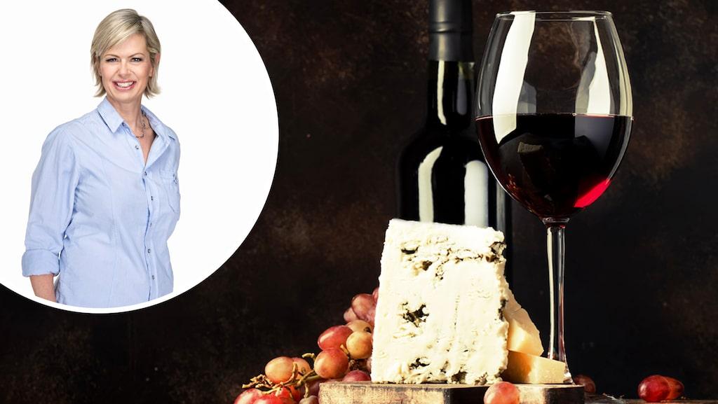 Passar rött vin till grönmögelosten? Det frågar sig en av våra läsare - och får svar av vinskribenten Gunilla Hultgren Karell.
