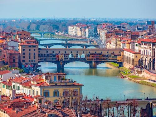 Trots att Italien är en av världens största vinproducenter så spenderar medelitalienaren – kanske bosatt i vackra Florens – dryga tolv euro per familj i månaden på vin.
