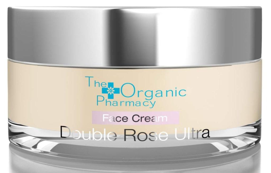 Näringsrik ansiktskräm för torr och känslig hy från The Organic Farmacy. Innehåller bland annatsheasmör, morot och nyponolja. Double Rose Ultra, 625 kronor.